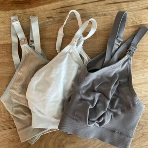 Other - 3 Stretchy Nursing Bras